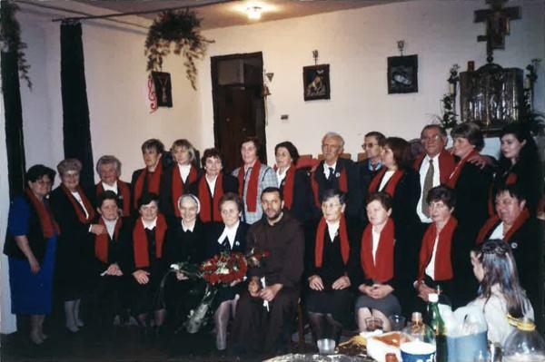 U društvu s. Krune Vrkašević i fra Tome Anđića, 21. studenog 2004.
